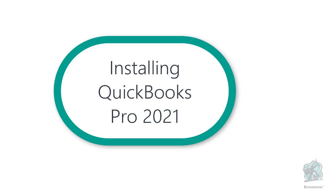 Installing Quickbooks Pro 2018